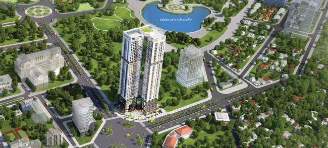 tổng quan dự án golden park tower