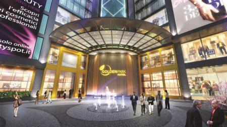 sảnh khách sạn golden park