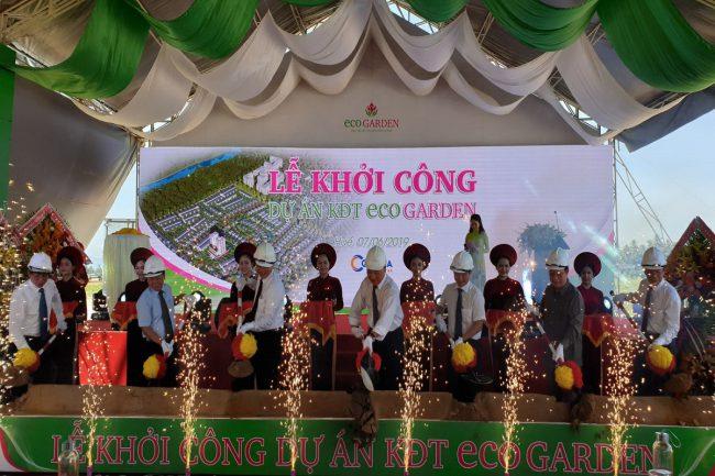 lễ khởi công dự án ecogarden huế