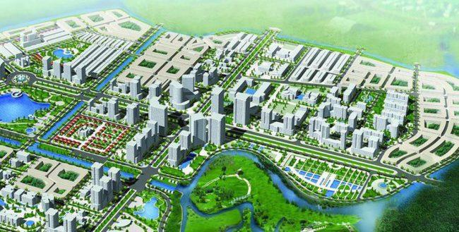 quy hoạch khu a - đô thị mới an vân dương