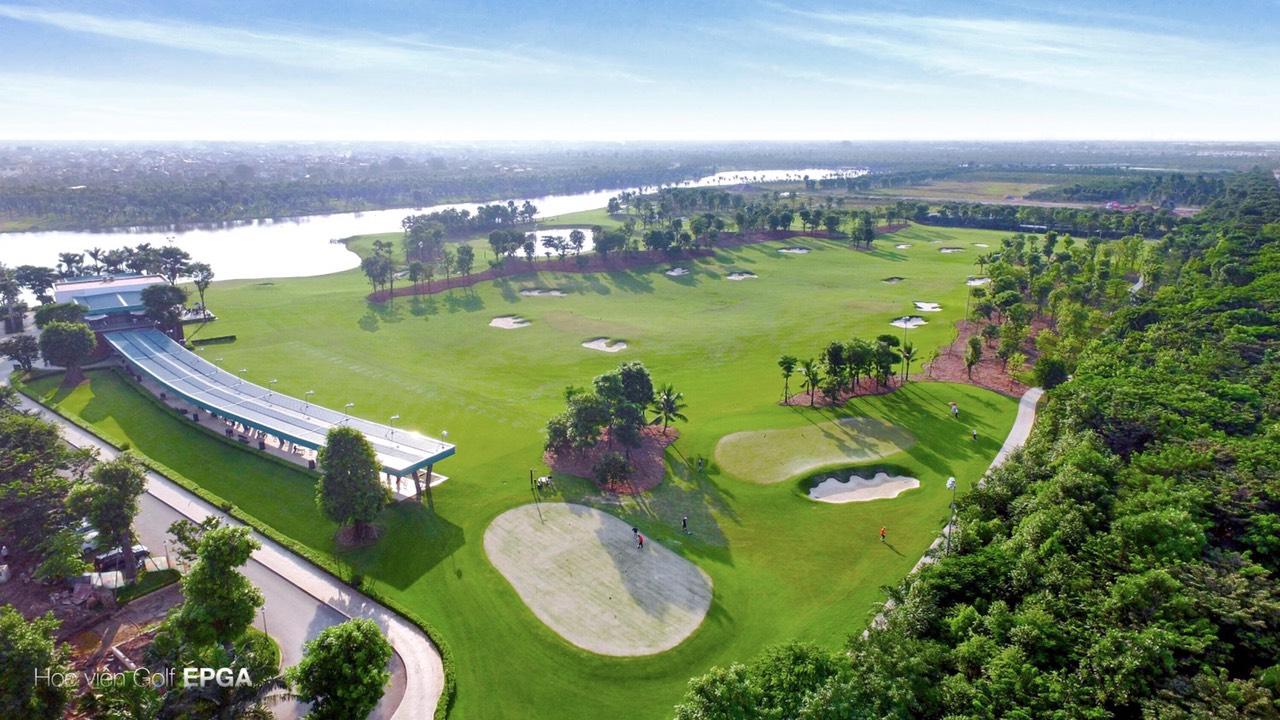 sân tập golf tại Ecopark