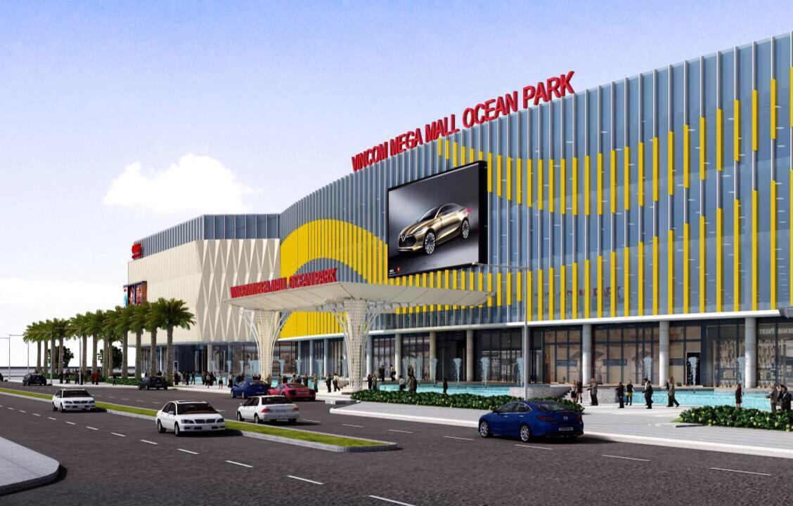 siêu thị megamall vinhomes ocean park