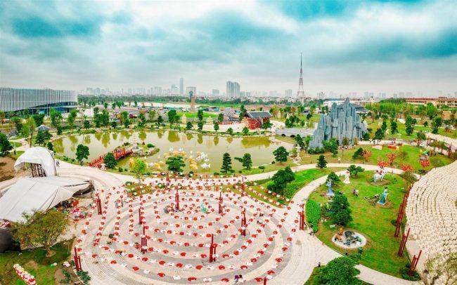 vườn nhật vinhomes smart city